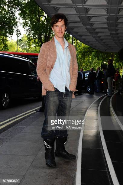 Benedict Cumberbatch arrives at the English National Ballet's 60th Anniversary Party at the Dorchester Hotel in London