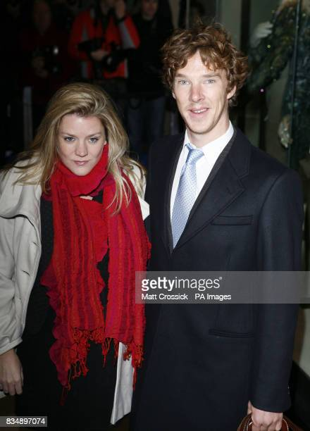 Benedict Cumberbatch arrives at the Evening Standard Theatre Awards held at the Royal Opera House in Covent Garden London