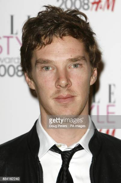 Benedict Cumberbatch arrives for the ELLE Style Awards 2008 The Westway west London