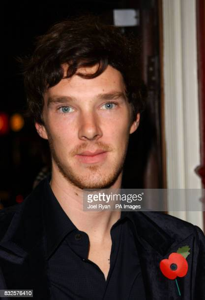 Benedict Cumberbatch arrives for the premiere of Starter for Ten at the Coronet cinema in central London