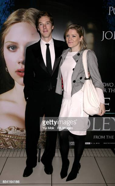 Benedict Cumberbatch arrives for the Royal Film Premiere of The Other Boleyn Girl at the Odeon West End Cinema Leicester Square London