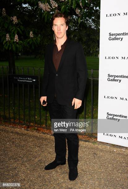 Benedict Cumberbatch arriving at The Serpentine Gallery Summer Party Kensington Gardens London