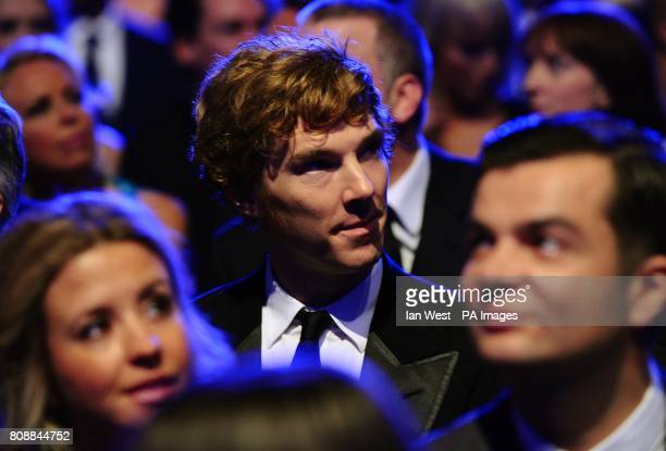 Benedict Cumberbatch arriving for the 2011 National Television Awards at the O2 Arena London