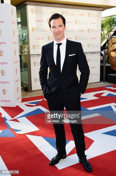 Benedict Cumberbatch arriving for the 2012 Arqiva British Academy Television Awards at the Royal Festival Hall London