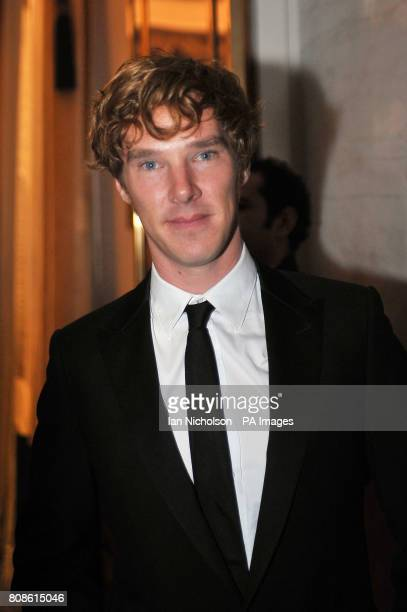 Benedict Cumberbatch arriving for the London Evening Standard Theatre Awards at the Savoy Hotel