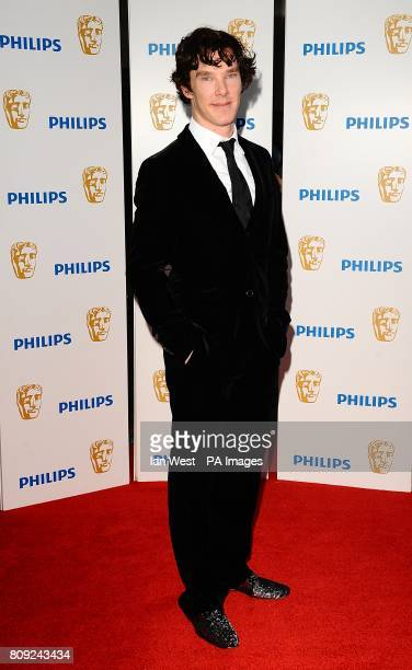 Benedict Cumberbatch arriving for the Philips British Academy Television Awards at the Grosvenor House 90 Park Lane London