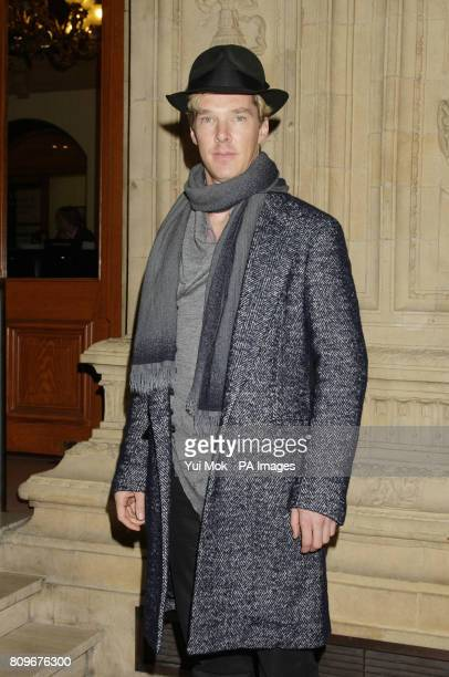 Benedict Cumberbatch arriving for the Prince's Trust Rock Gala Ball at the Royal Albert Hall in west London