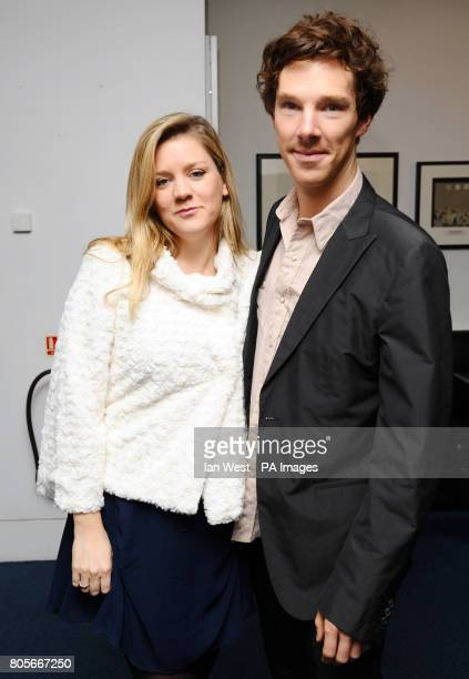 Benedict Cumberbatch at the Evening Standard Theatre Awards at the Royal Opera House in Covent Garden London