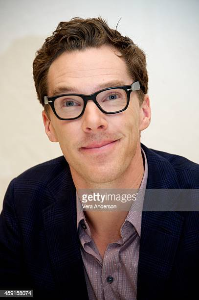 Benedict Cumberbatch at 'The Imitiation Game' Press Conference at The Beverly Hilton Hotel on November 15 2014 in Beverly Hills California