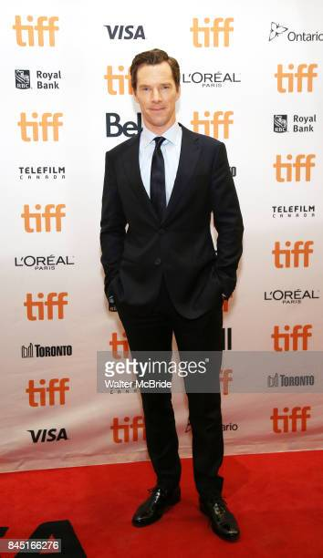 Benedict Cumberbatch attends 'The Current War' premiere during the 2017 Toronto International Film Festival at Princess of Wales Theatre on September...