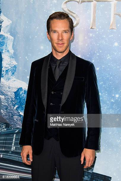 Benedict Cumberbatch attends the 'Doctor Strange' fan event at Zoo Palast on October 26 2016 in Berlin Germany