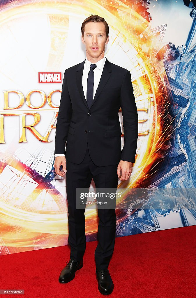 Benedict Cumberbatch attends the fan screening event for 'Doctor Strange' on October 24, 2016 in London, United Kingdom.