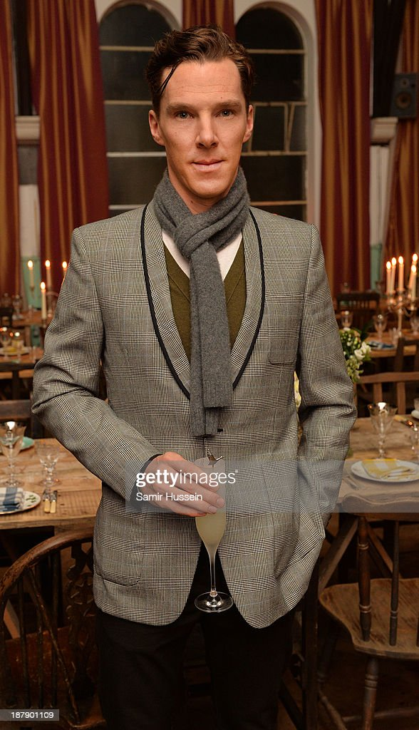 <a gi-track='captionPersonalityLinkClicked' href=/galleries/search?phrase=Benedict+Cumberbatch&family=editorial&specificpeople=2487879 ng-click='$event.stopPropagation()'>Benedict Cumberbatch</a> attends the Soho House and Grey Goose party to celebrate the CineCity film festival on November 13, 2013 in Brighton, England. Guests enjoyed a three course sharing menu prepared by Soho House and Grey Goose cocktails.