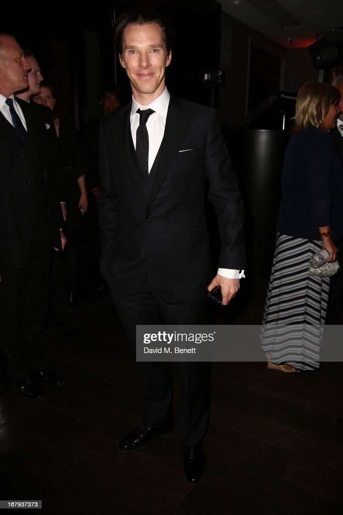 <a gi-track='captionPersonalityLinkClicked' href=/galleries/search?phrase=Benedict+Cumberbatch&family=editorial&specificpeople=2487879 ng-click='$event.stopPropagation()'>Benedict Cumberbatch</a> attends the UK Premiere - After Party of 'Star Trek Into Darkness' at Aqua on May 2, 2013 in London, England.
