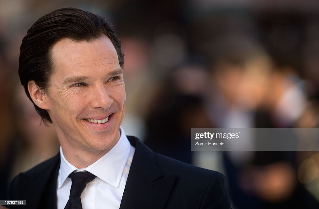 Benedict Cumberbatch attends the UK Premiere of 'Star Trek Into Darkness' at The Empire Cinema on May 2, 2013 in London, England.