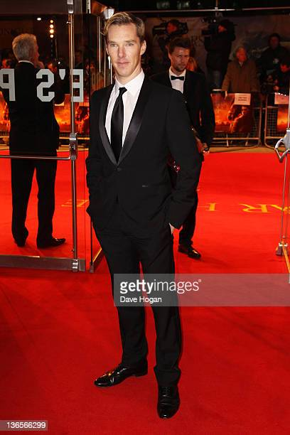 Benedict Cumberbatch attends the UK premiere of War Horse at Odeon Leicester Square on January 8 2012 in London United Kingdom