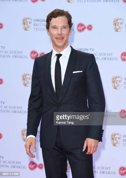 Benedict Cumberbatch attends the Virgin TV BAFTA Television Awards at The Royal Festival Hall on May 14 2017 in London England