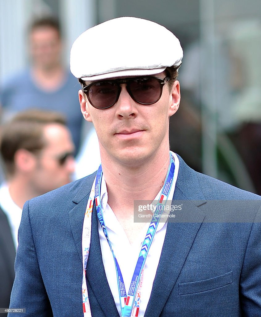 Benedict Cumberbatch onboard the Red Bull Energy Station during the Monaco Formula One Grand Prix at Circuit de Monaco on May 25, 2014 in Monte-Carlo, Monaco.
