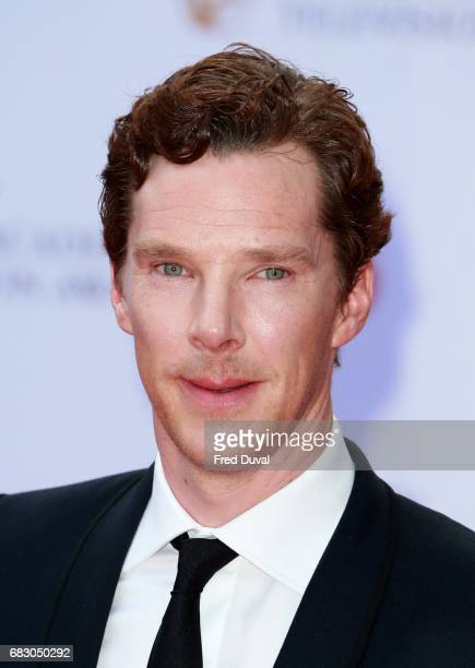 Benedict Cumberbatch the Virgin TV BAFTA Television Awards at The Royal Festival Hall on May 14 2017 in London England