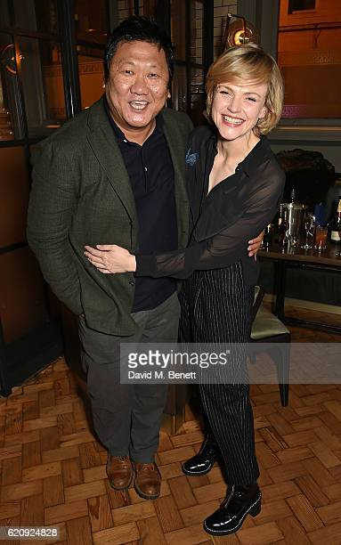 Benedict Wong and Maxine Peake attend the STYLE x PRINCIPAL Party at The Principal Manchester on November 3 2016 in Manchester England