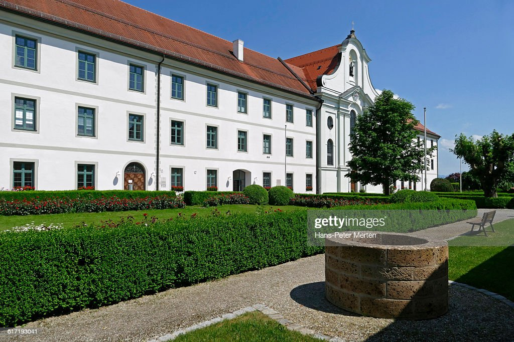 Benedictine monastery Rott Abbey, Rott am Inn : Stock Photo