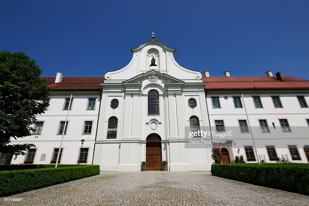 Benedictine monastery Rott Abbey, Rott am Inn : Stock Photo