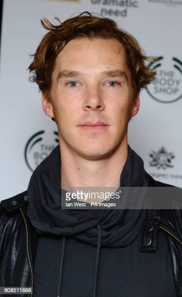 Benedicxt Cumberbatch is seen at the afterparty of the one off play The Childrens Monologues in aid of charity Dramatic Need at the Old Vic in London