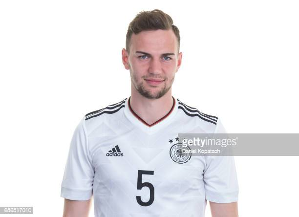 Benedikt Gimber poses during the Germany U20 Team Presentation on March 22 2017 in Homburg Germany