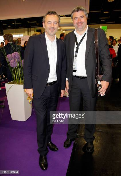 Benedikt Grindel Studio Manager bei Ubisoft Blue Byte attends the opening of the Gamescom 2017 gaming trade fair on August 22 2017 in Cologne Germany...