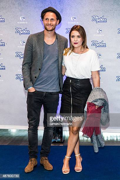 Benedikt Hoewedes attends the FC Schalke 04 111th Anniversary Gala at Musiktheater im Revier on September 10 2015 in Gelsenkirchen Germany