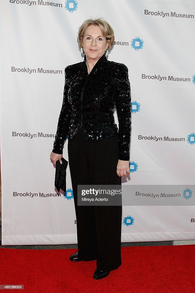Benefactor of the arts and sponsor of the Brooklyn Museum Elizabeth Sackler attends the Brooklyn Museum's 4th annual Brooklyn Artists Ball on April 16, 2014 in the Brooklyn borough of New York City.