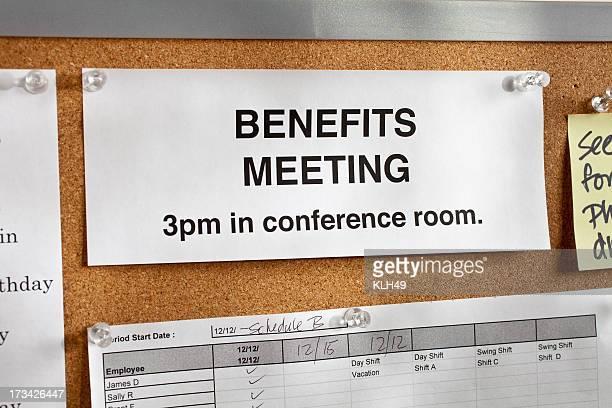 Avantages de réunion.