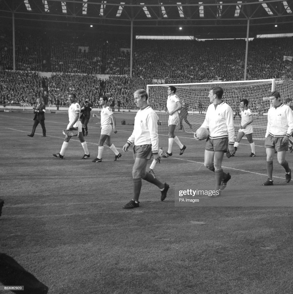 Soccer 1968 European Cup Final Benfica v Manchester United