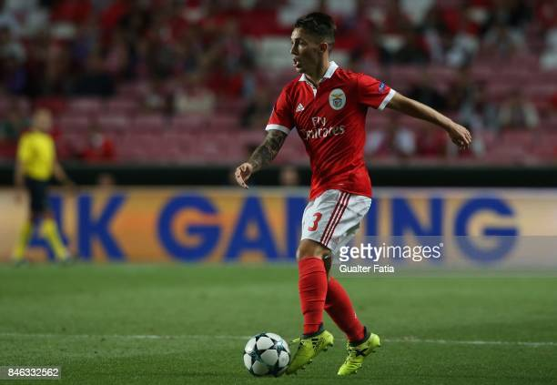Benfica defender Alejandro Grimaldo from Spain in action during the UEFA Champions League match between SL Benfica and CSKA Moskva at Estadio da Luz...