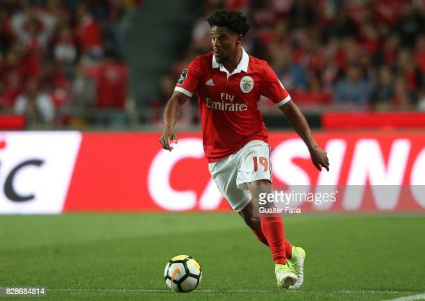 Benfica defender Eliseu from Portugal in action during the Primeira Liga match between SL Benfica and SC Braga at Estadio da Luz on August 9 2017 in...