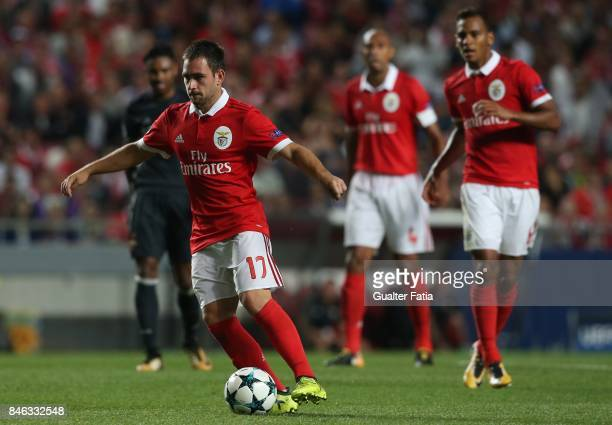Benfica forward Andrija Zivkovic from Serbia in action during the UEFA Champions League match between SL Benfica and CSKA Moskva at Estadio da Luz on...