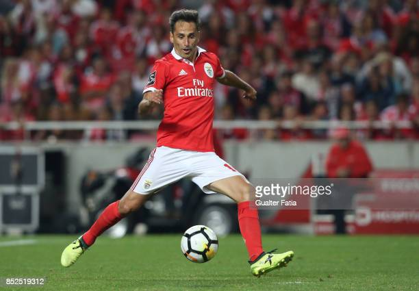 Benfica forward Jonas from Brazil in action during the Primeira Liga match between SL Benfica and FC Pacos de Ferreira at Estadio da Luz on September...