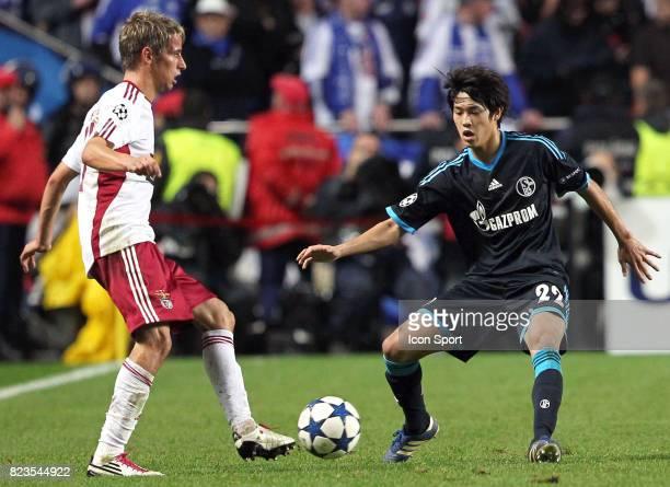 COENTRAO / UCHIDA Benfica / Schalke 04 Champions League