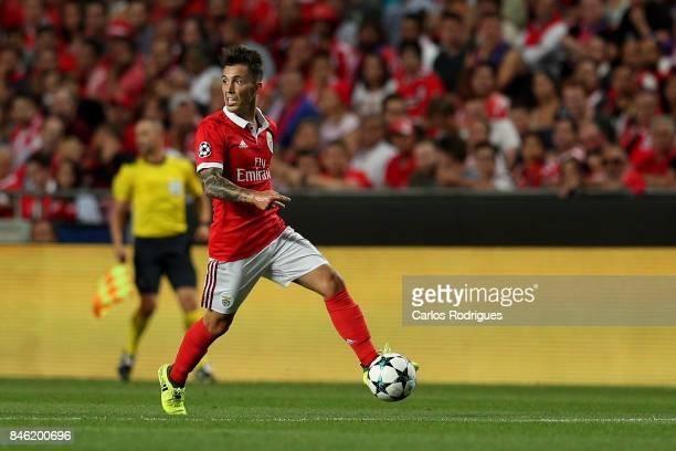 Benfica's defender Alejandro Grimaldo from Spain during SL Benfica v CSKA Moskva UEFA Champions League round one match at Estadio da Luz on September...