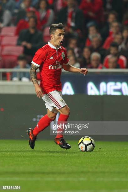 Benfica's defender Alejandro Grimaldo from Spain during the match between SL Benfica and FC Vitoria Setubal for the Portuguese Cup at Estadio da Luz...