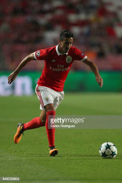 Benfica's defender Andre Almeida from Portugal during SL Benfica v CSKA Moskva UEFA Champions League round one match at Estadio da Luz on September...