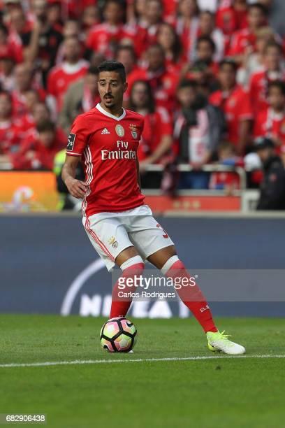 Benfica's defender Andre Almeida from Portugal during the match between SL Benfica and Vitoria SC for the Portuguese Primeira Liga at Estadio da Luz...