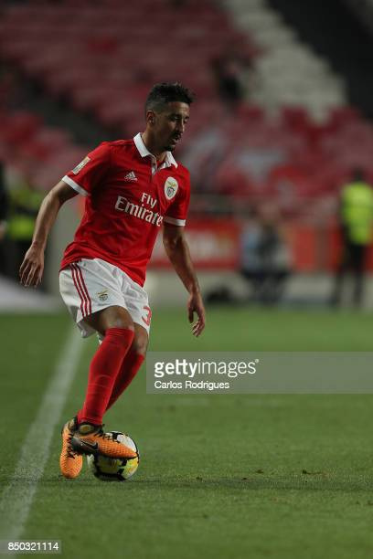 Benfica's defender Andre Almeida from Portugal during the match between SL Benfica and SC Braga for the Portuguese Taca da Liga at Estadio da Luz on...