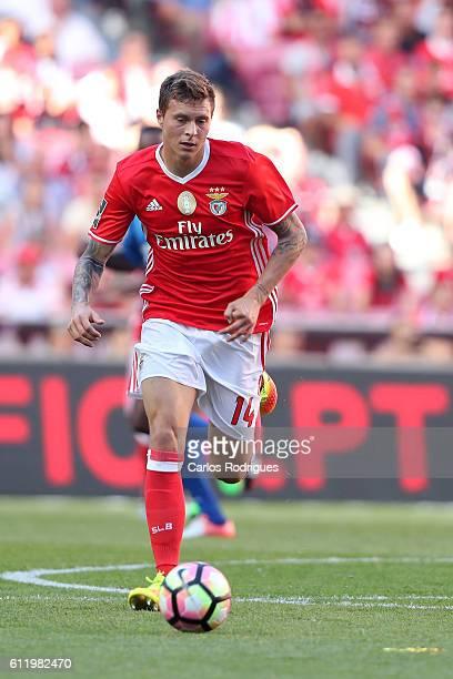 Benfica's defender from Sweden Victor Lindelof during the SL Benfica v CD Feirense Primeira Liga match at Estadio da Luz on October 02 2016 in Lisbon...