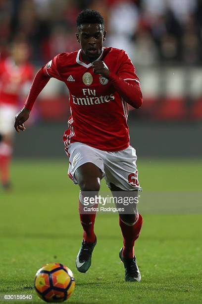 Benfica's defender Nelson Semedo from Portugal during the match between Estoril Praia SAD and SL Benfica for the Portuguese Primeira Liga at Estadio...