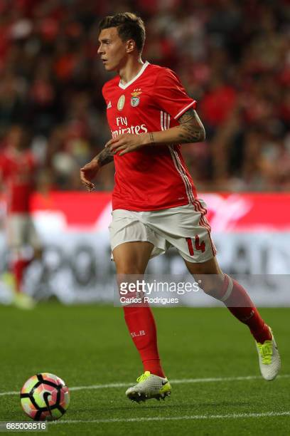 Benfica's defender Victor NilssonLindelof from Sweden during the match between SL Benfica and Estoril Praia SAD for the Portuguese Cup semi finals...