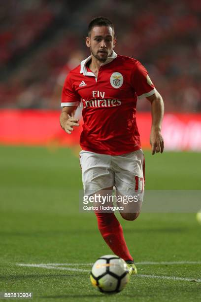 Benfica's forward Andrija Zivkovic from Serbia during the match between SL Benfica and FC Paco de Ferreira for the round seven of the Portuguese...