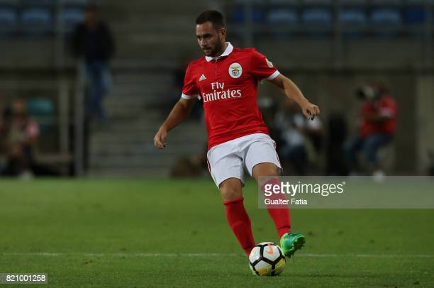 Benfica's forward Andrija Zivkovic from Serbia in action during the Algarve Cup match between SL Benfica and Hull City at Estadio Algarve on July 22...