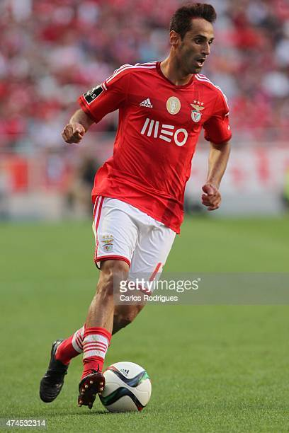 Benfica's forward Jonas during the Primeira Liga match between Benfica and Maritimo at Estadio da Luz on May 23 2015 in Lisbon Portugal