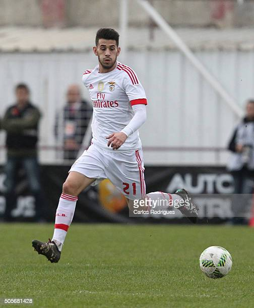 Benfica's forward Pizzi during the match between Oriental Lisboa and SL Benfica for Portuguese League Cup at Estadio Engenheiro Carlos Salema on...